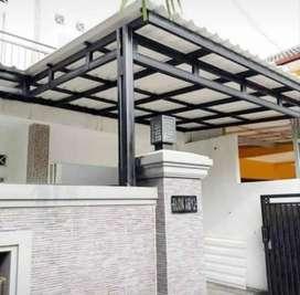 Kanopi atap alderon twinwall 0339