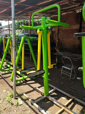 Double Swing Board Outdoor Fitness Termurah Ready Siap Kirim