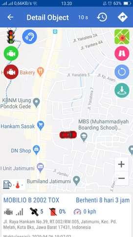 Agen murah..! GPS TRACKER wetrack, double amankan motor/mobil