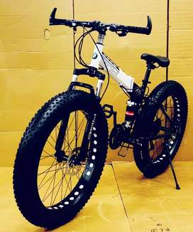New 21 Gears Fat Foldable Bicycles