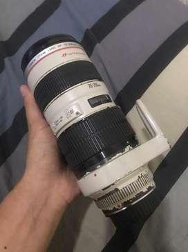 Lensa Tele CANON EF 70-200mm F2.8L USM