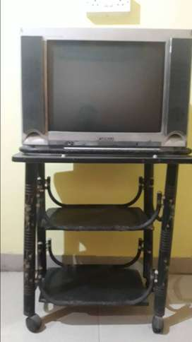 Sansui colour TV with TV stand