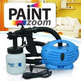 Paint Zoom Sprayer heating an average sized room in approximately 15