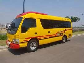 Isusu elf , mini bus , trevel jawa timur