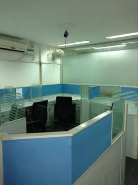 Furnished office space for rent at Annasalai