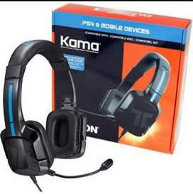 Brand New Stock Kama Gaming Set For PC,Mobile And Ps4 with mic