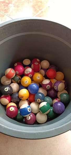 Jual cepat bola billiard bekas