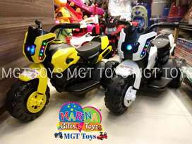 Kids robo electric bike 3 wheeler sale offer