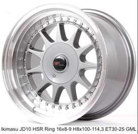 IKIMASU JD10 HSR R16X8/9 H8X100-114,3 ET30/25 GML