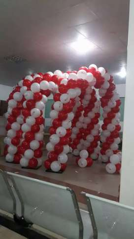 Baloon decore birth day parties
