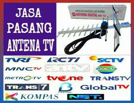 Teknisi Jasa Pasang Baru Antena TV HD