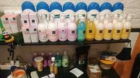 Bodywash bodylotion shampoo Scarlet