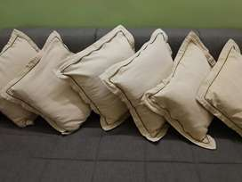 6-Pillow with Cotton Cover