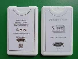 Parfum Saku (Pocket Spray) Silver Dobha (Pabelan)