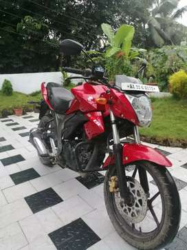 Gixxer red 2015 model.  Good condition