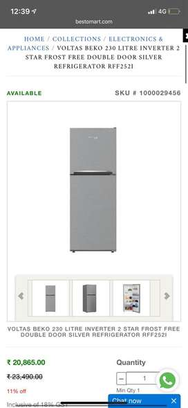 only 6 months old fridge