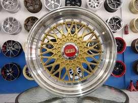 velg Celong BBS RS ring 17 pcd 8x100/114,3 cocok untuk avanza dll