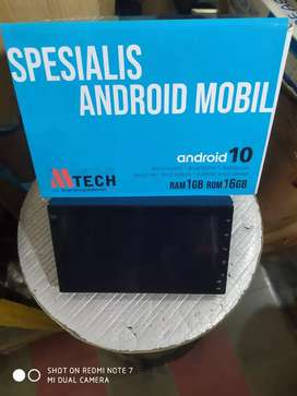 Tv android 7 inch MTeck ( Megah top)