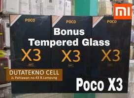Poco X3 NFC 6/64 Garansi Resmi (Bonus TG & Softcase) Xiaomi Redmi