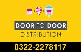 Door-To-Door Marketing - Flyer Distribution Advertising | Karachi