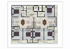 3bhk/sector 110