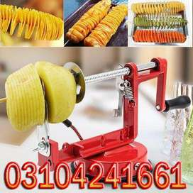 Spiral Potato Slicer space the size or width of the conduit will need