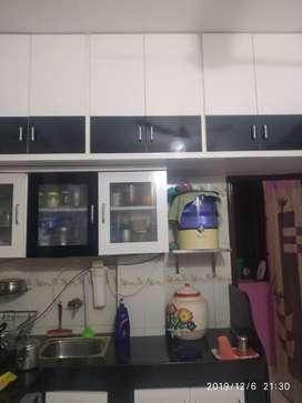 2bhk semefurnished flat