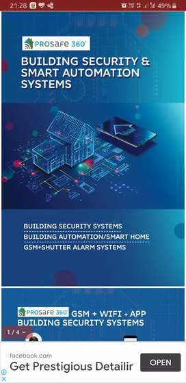 Building security home automation system marketing &sales person reqd
