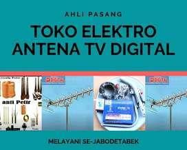 Melayani jasa pemasangan sinyal antena tv citeureup