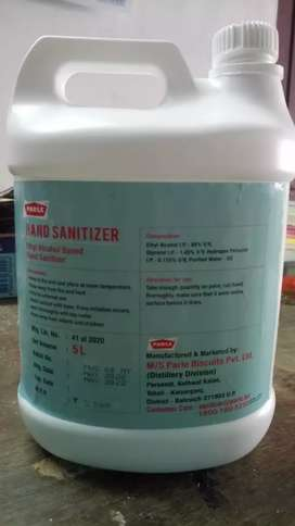 Sanitizer stand and sanitizers