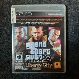 BD PS3 GTA 4:Complete Edition Second (R2)