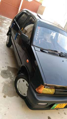 Black mehran car for sale everything is good