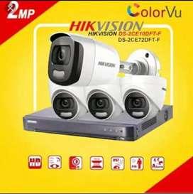 Paket kamera CCTV komplit plus pemasangan
