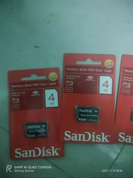 SanDisk stick pro duo - memory card 4gb