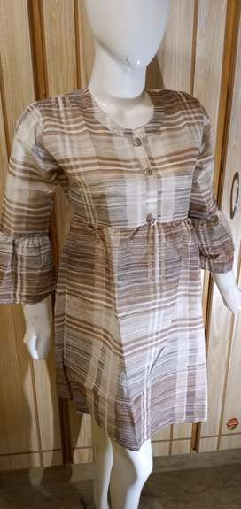 Imported fabric ladies frocks