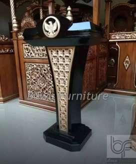 Ukuran Mimbar Masjid Model Podium Presiden
