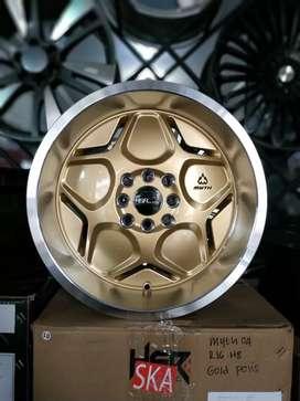 Jual velg racing HSR(bisa credit) R16 Buat mobil jaaz, yaris, avanza