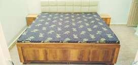 6/6 gaadi bed with 2 side box