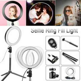 20cm Led Studio Camera Ring Light Photography With Stand