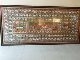 Handpainted Patachitra 7ft x 4ft