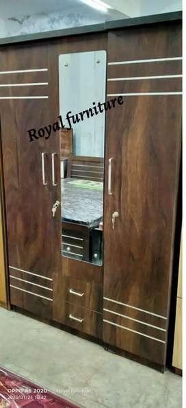 3 door wardrobe in best price