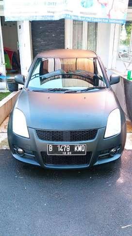 Mobil Suzuki Swift ST 2007 Hitam Doff ( Nego )