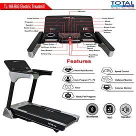 treadmill elektrik tl-166 treadmil listrik COD Pasuruan