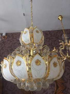 Lampu hias gantung kristal mewah murah