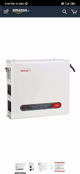 MAXINE 2000 WATTS (2 KVA) 220 v to 110 v Step Down Transformer