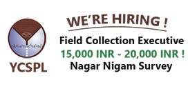 Field collection executives- Haryana Govt project