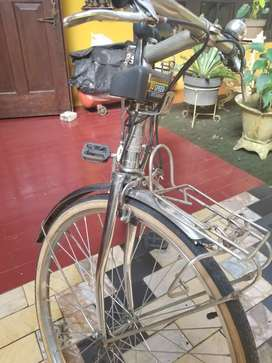 Sepeda balap Luckyfive uk24 krom chrome jepang japan jadul antik