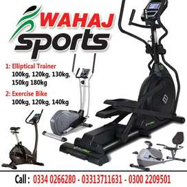 Elliptical an exercise cycles available