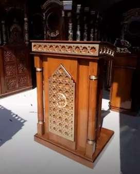 mimbar masjid jati mewah