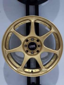 Velg Mobil Jdm Ring 16 Gold Eterna, Starlet, Hyundai, Mobilio, Datsun